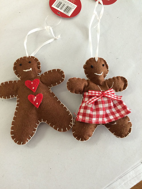 Festive Gingerbread Boy/ Girl
