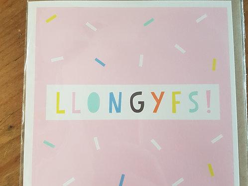 Llongyfs