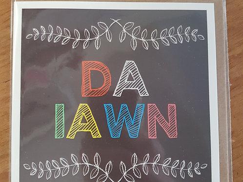 Da Iawn