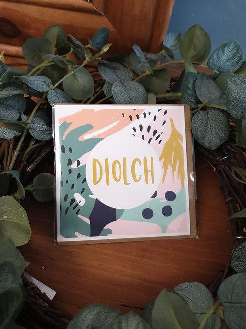 Diolch