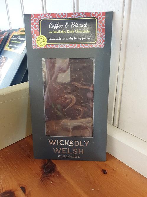 Coffee & Biscuit in Devilishly Dark Chocolate