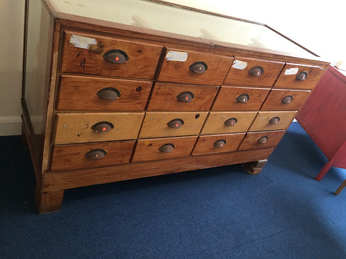 16 Drawer Habedashers Sideboard