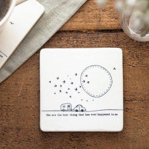 Best Thing Square Coaster