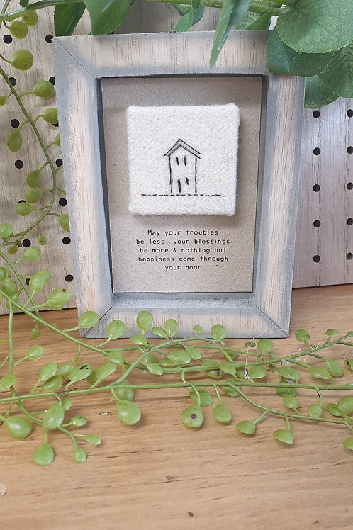 May your troubles - box frame