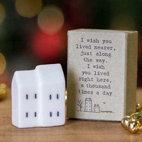 I wish- Matchbox House