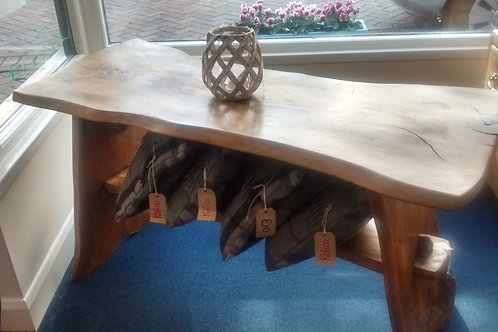 Waney Edged Wooden Table