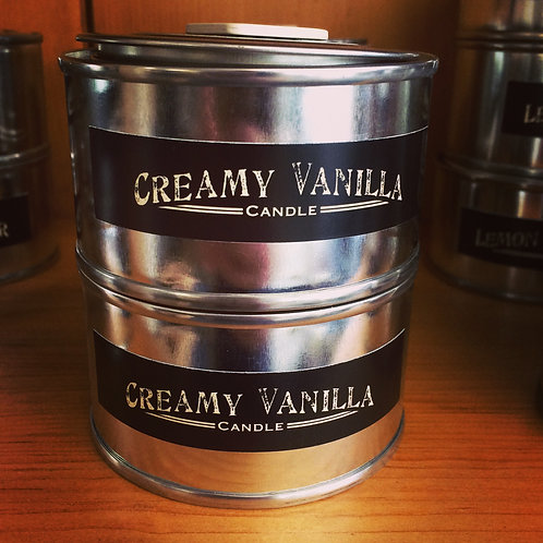 Creamy Vanilla Scented Candle
