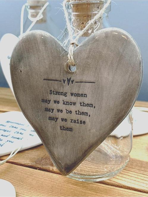 Strong women Heart