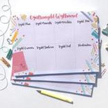 Cynllynydd Wythnosol / Weekly Planner