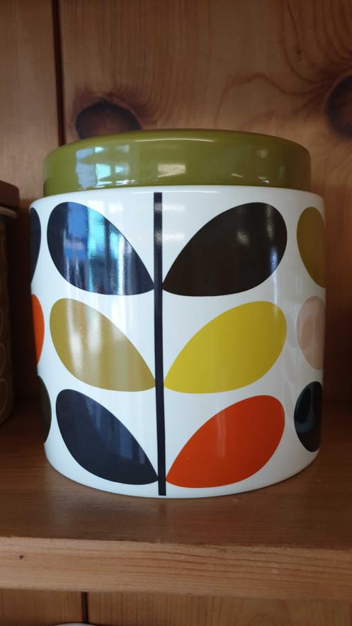 Orla Kiely 1l Storage Jar Multi Stem