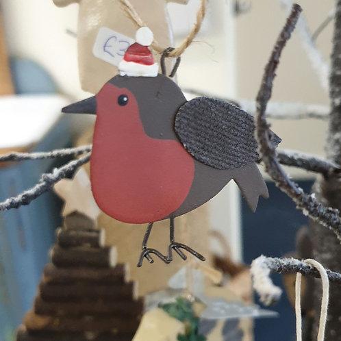 Hanging robin