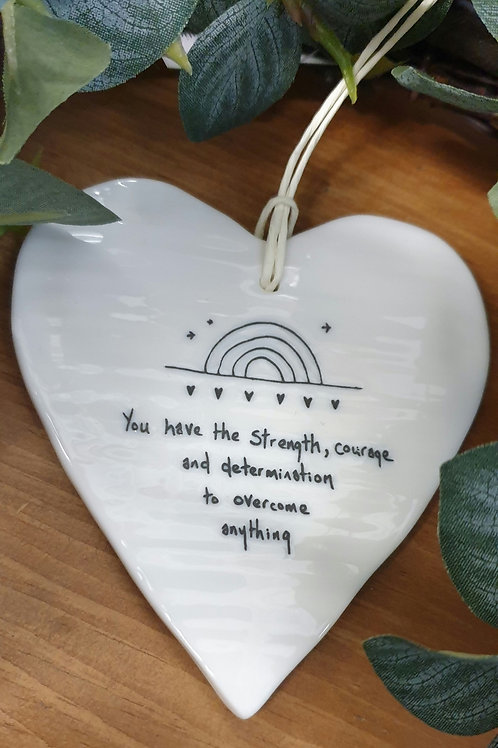 You have the strength wobbly heart