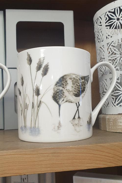 Sandpiper bone china mug
