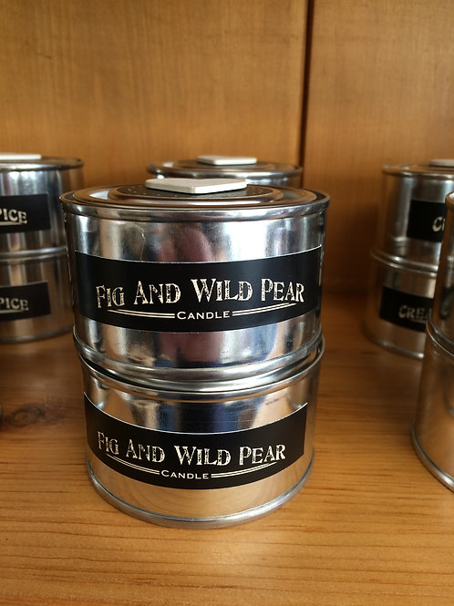 Fig and Wild Pear Scented Candle