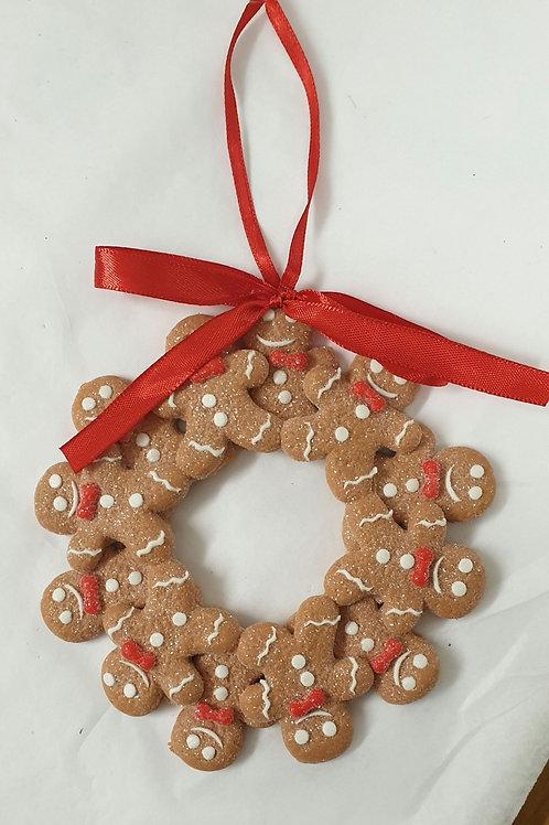 Mini Gingerbread man wreath