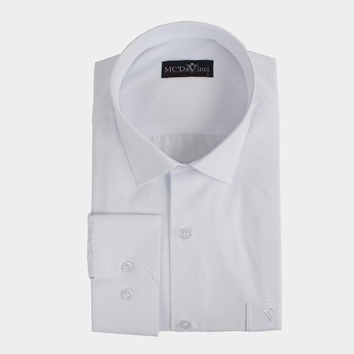 Chambray White Shirt