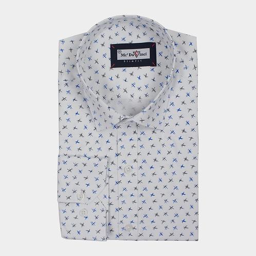 White Print Shirt