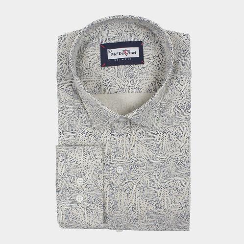 Brown Print Shirt