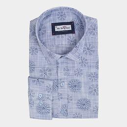 Blue Print Shirt