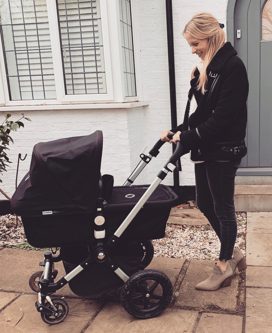 Postnatal exercise with Bugaboo