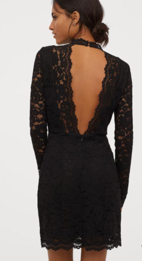 H&M Conscious Lace Dress