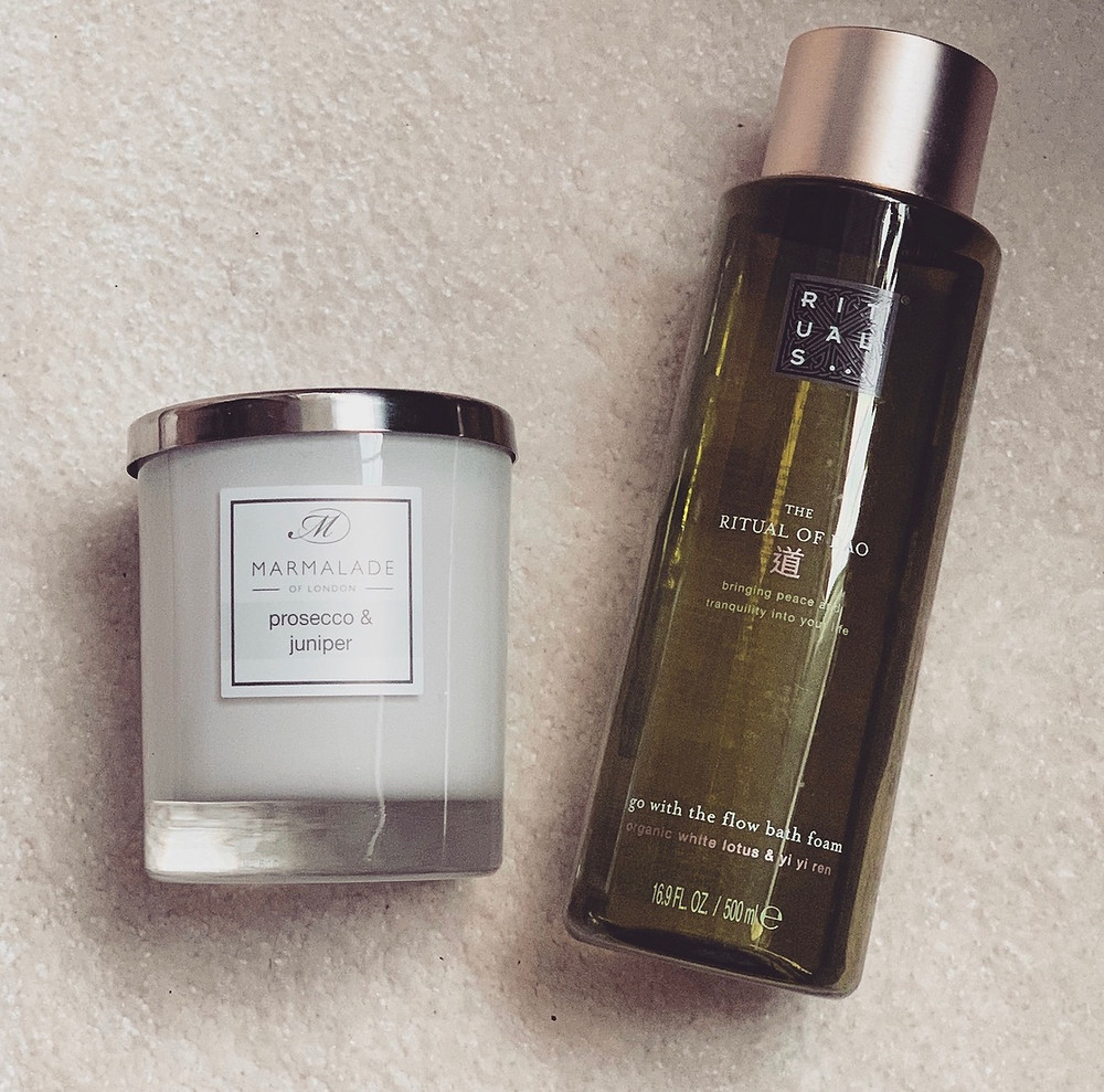 Rituals Bath Foam and Marmalade of London Candle