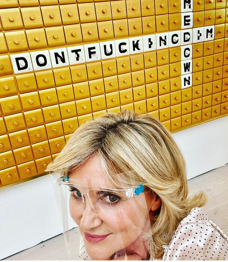 Don't Fucking Dim Me Down at Saatchi Gal