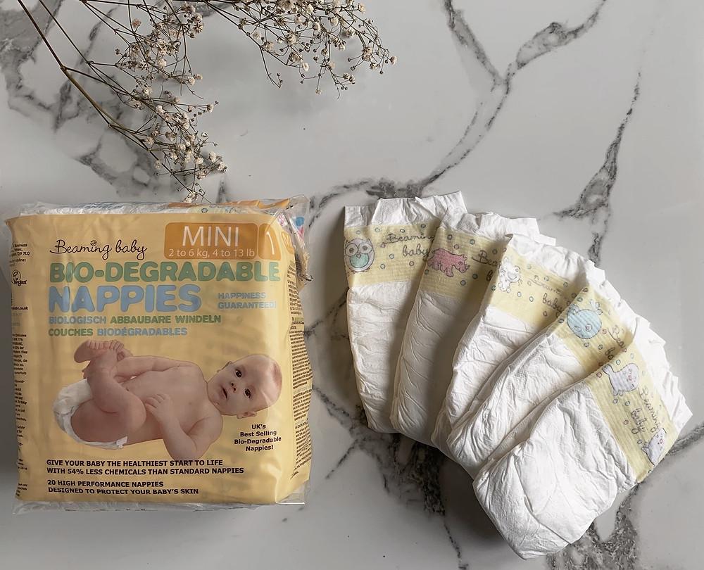 Bio-degradable nappies