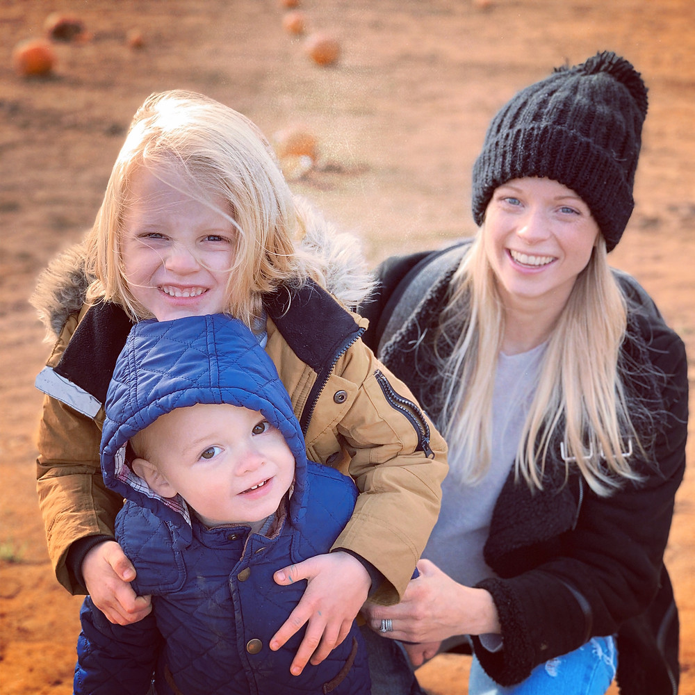 Secretts Pumpkin Picking with Family
