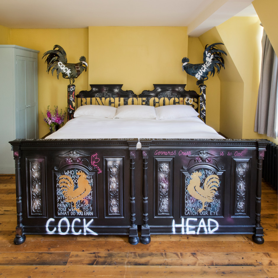 Bed Full of Cocks