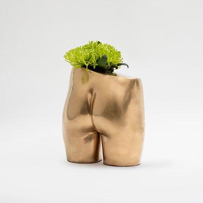 Bloomin' Bum Vase Gold