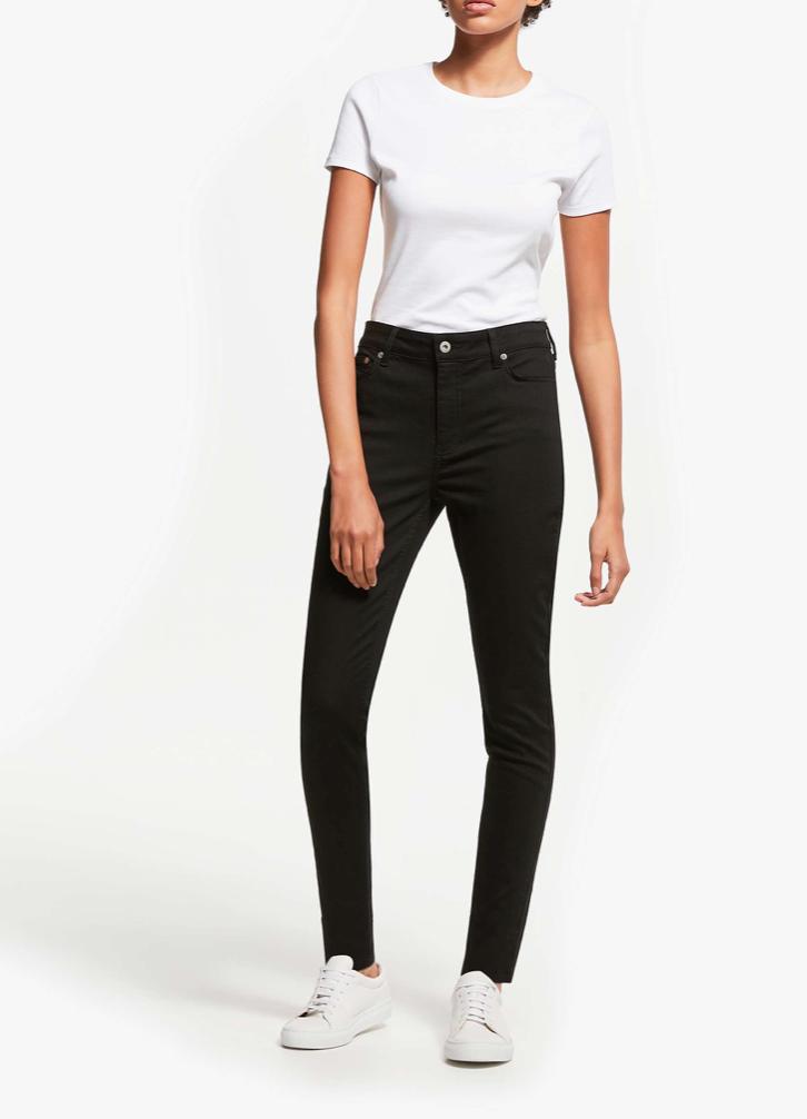 John Lewis & Partners Skinny Leg High Rise Jeans (£59)