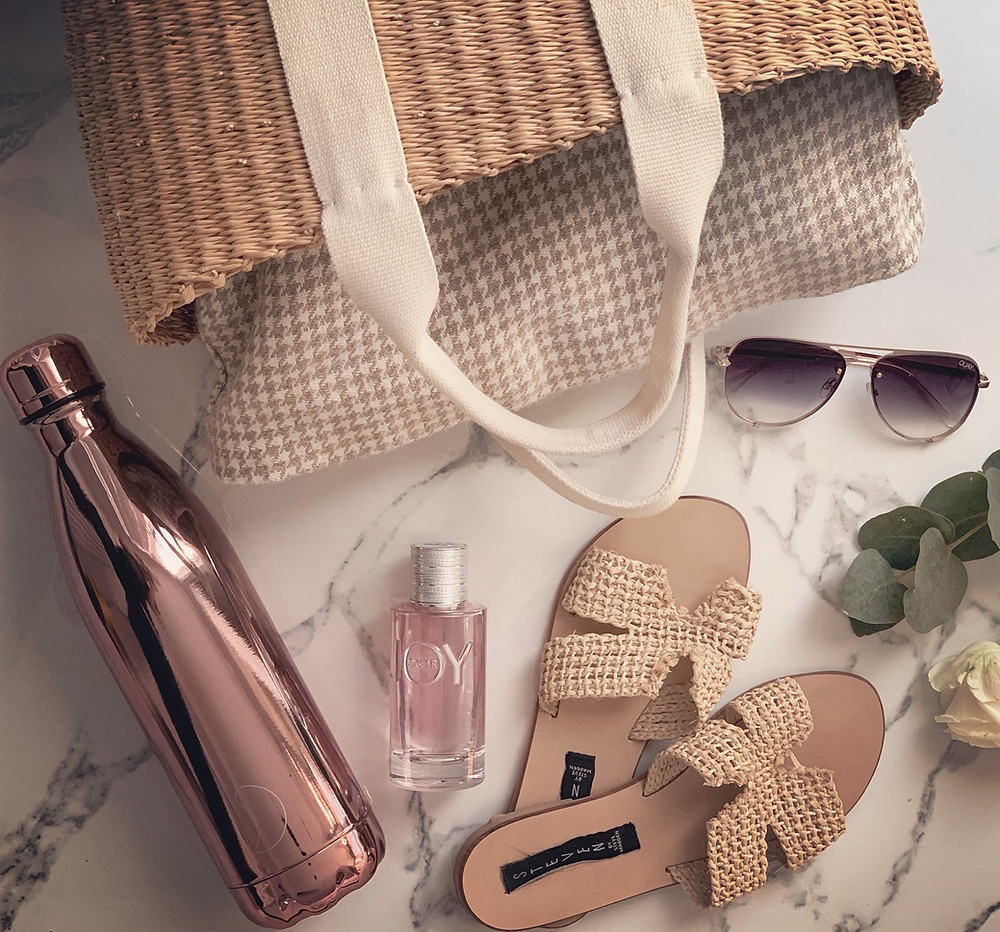 Sustainable Summer Bag and Contents
