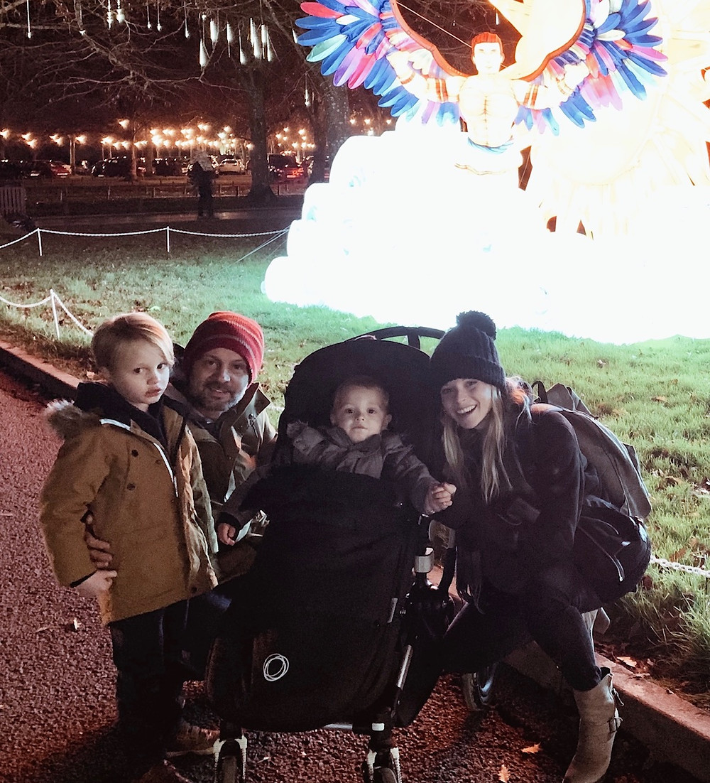 Family Day Out Longleat Festival of Lights