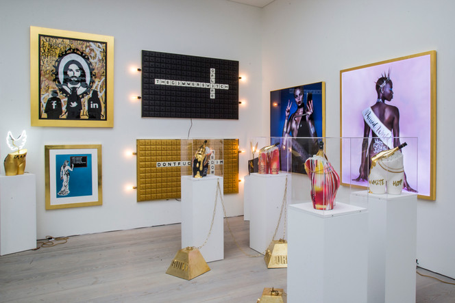 The Dimmer Switch Of Life at Saatchi Gallery London