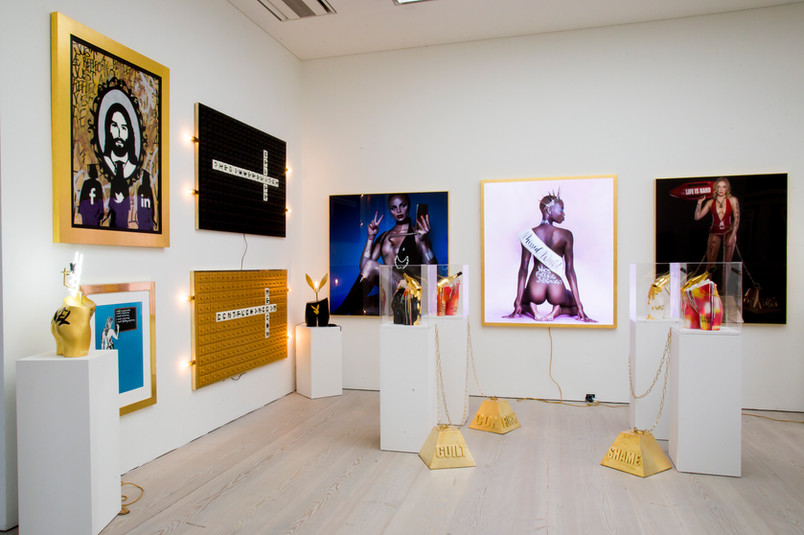 Race For Beauty at Saatchi Gallery