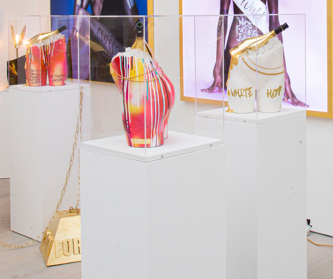 White Hot and Too Hot to Handle at Saatchi Gallery London