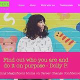 Rebecca Levene Life Coaching Website By Blubird Web Design