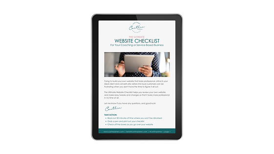 The Ultimate Website Checklist