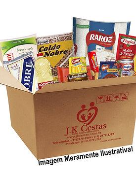 Cesta Kit de Alimentos 14 itens
