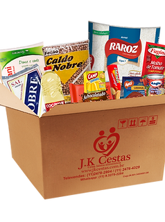 Cesta Básica C/ Kit Higiene 18 itens