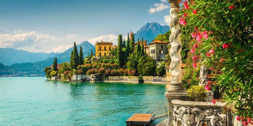 Lake Como Tour Deposit