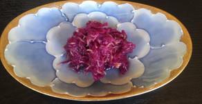菊の花の酢の物