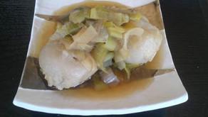 里芋のねぎ煮
