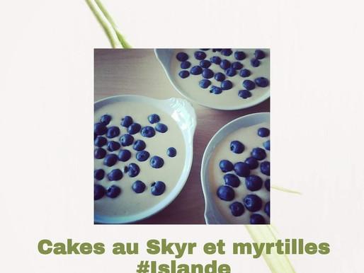 Cakes Skyr et myrtilles