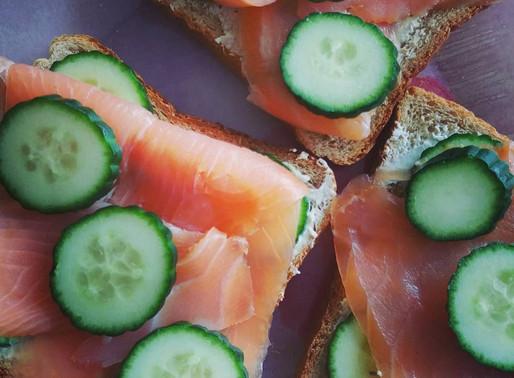 Sandwichs Saumon & Garam Masala