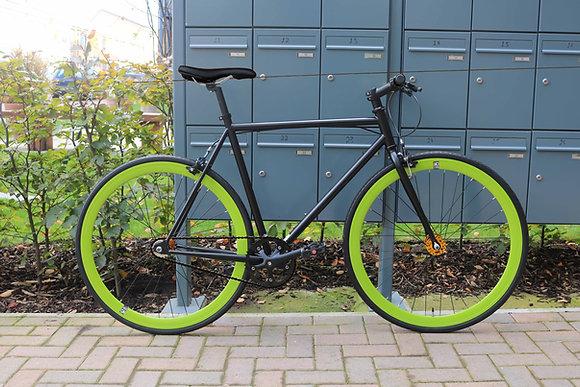 Teman - Black/Green -V8