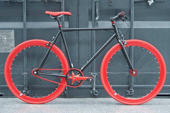 Teman - Black/Red -V1