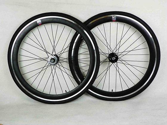 BLACK Single Speed wheel wheels wheelsets Fixed Fixie 700c flip-flop hub D