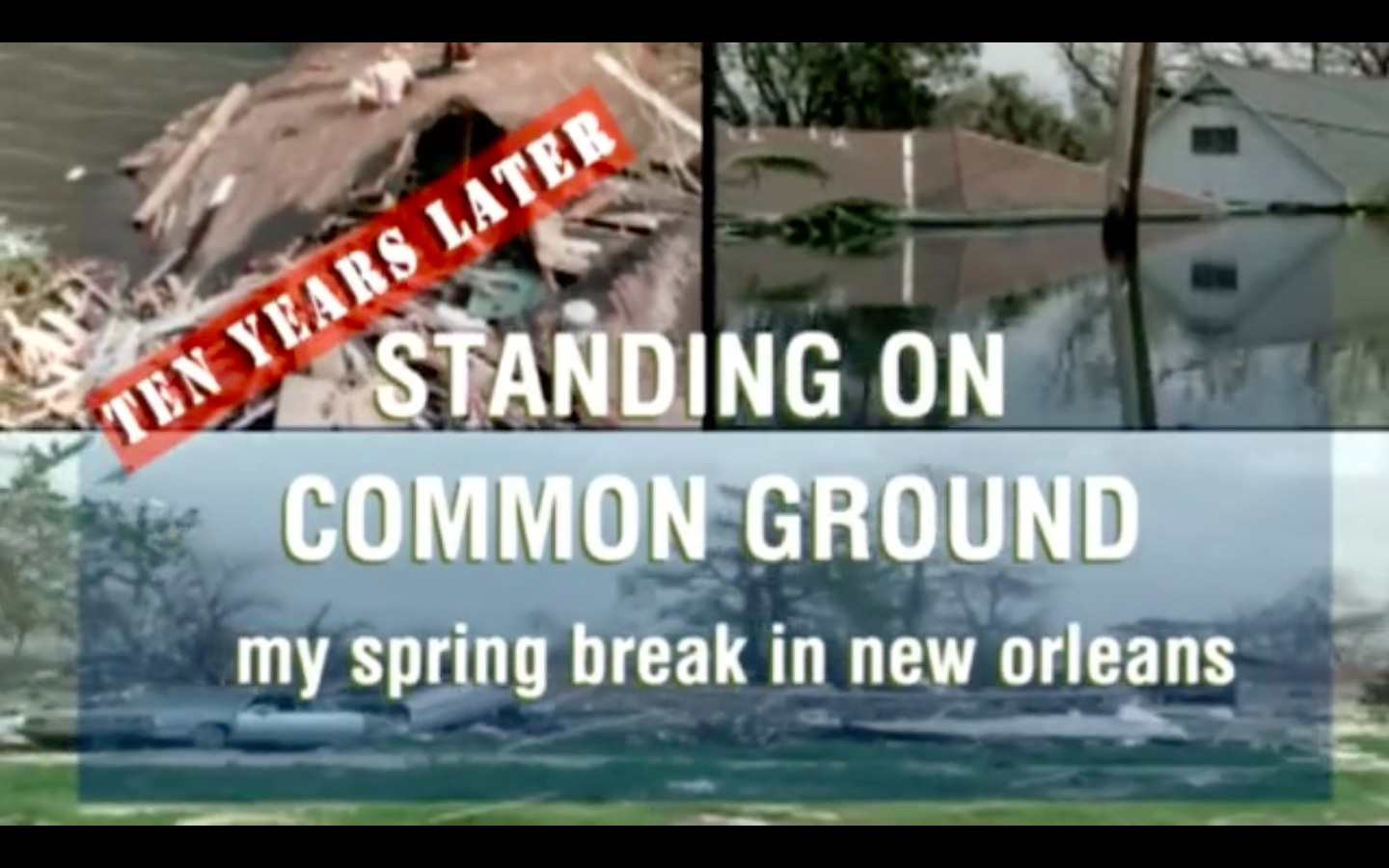 Standing On Common Ground 2016